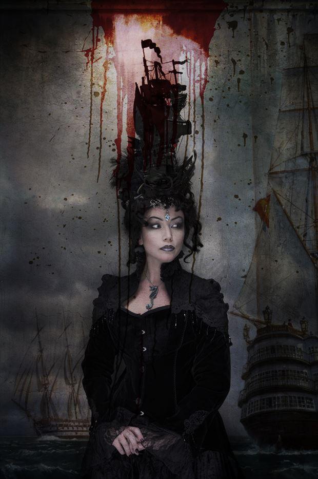 fashion gothic photo print by photographer stu williamson