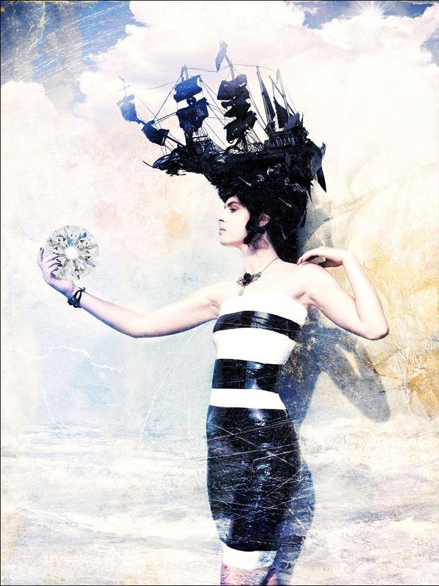 fashion photo print by photographer stu williamson