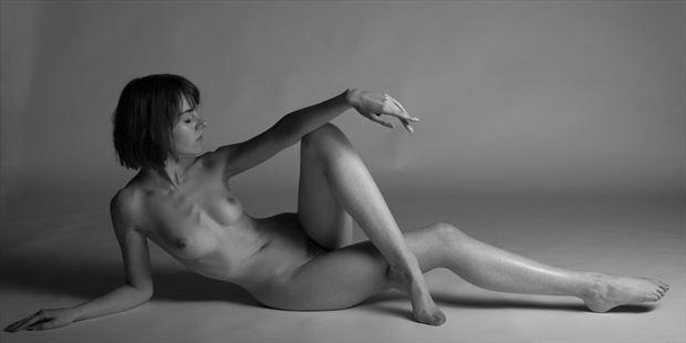 faye artistic nude photo print by photographer swaphoto