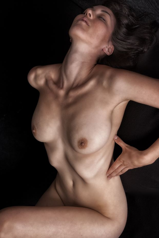 feeling the light two artistic nude photo print by photographer rick jolson