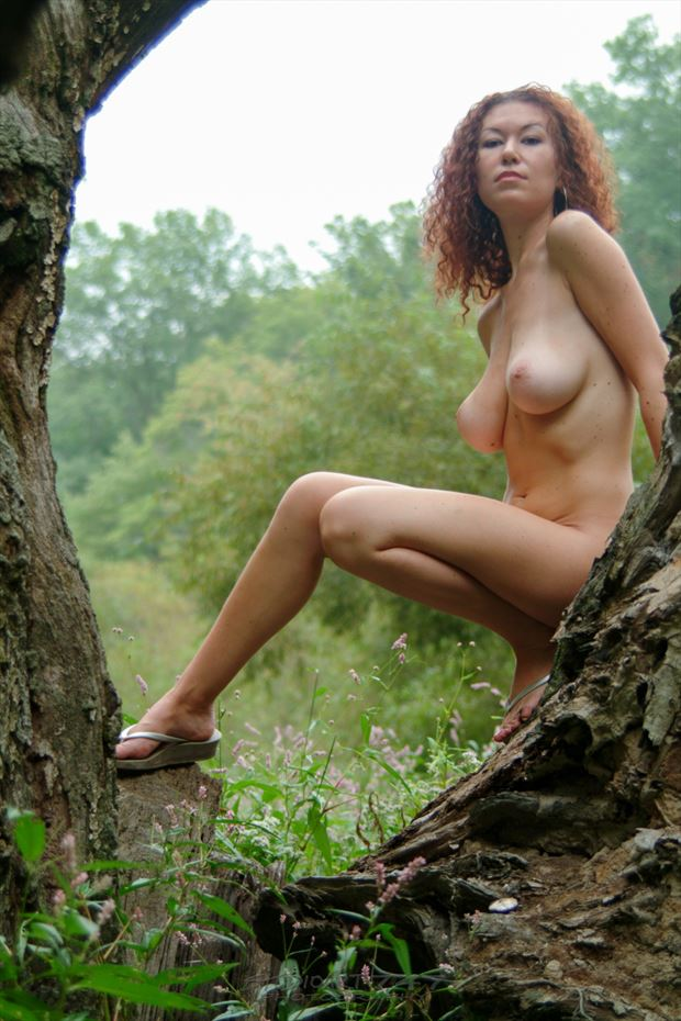 felicia grt swamp 08 artistic nude photo print by photographer studio747