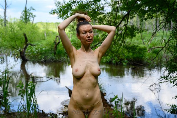 felicia grt swamp 19 artistic nude photo print by photographer studio747