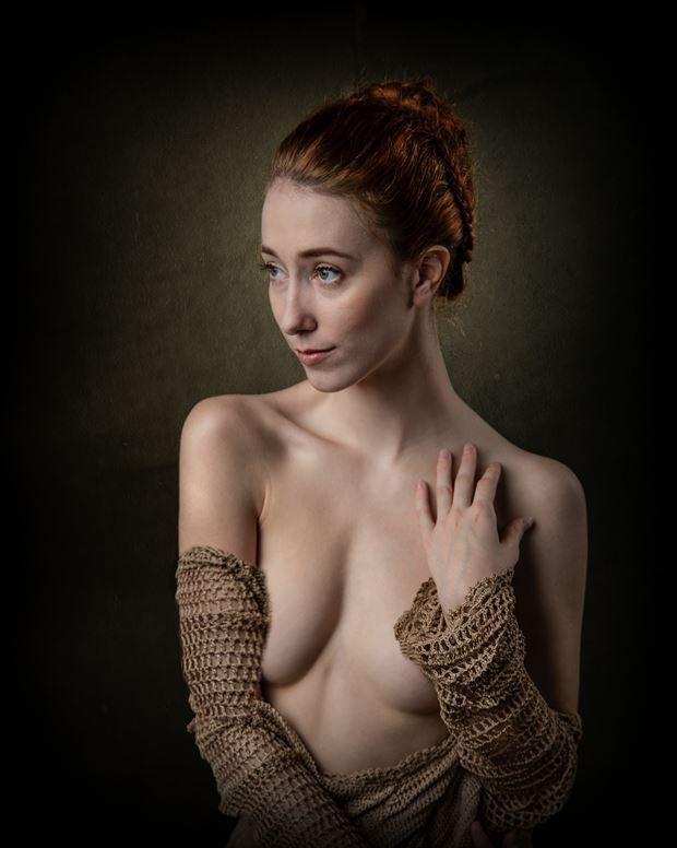 female portrait artistic nude artwork print by photographer photorp