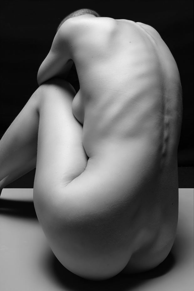 figure study artistic nude photo print by photographer philip turner