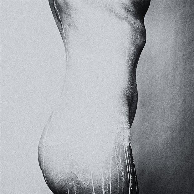 figure study surreal photo print by photographer gunnar