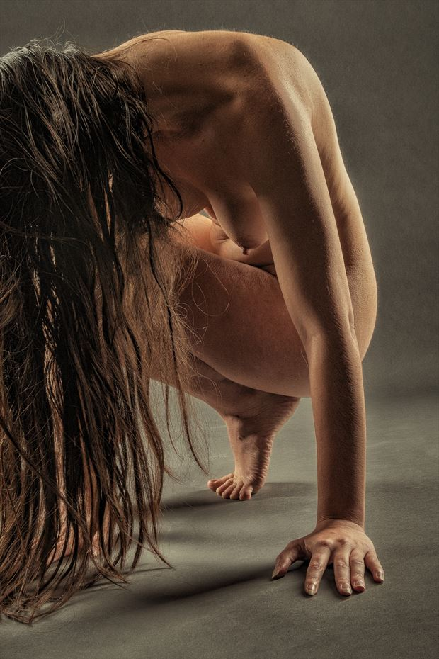 fingers toes artistic nude photo print by photographer rick jolson