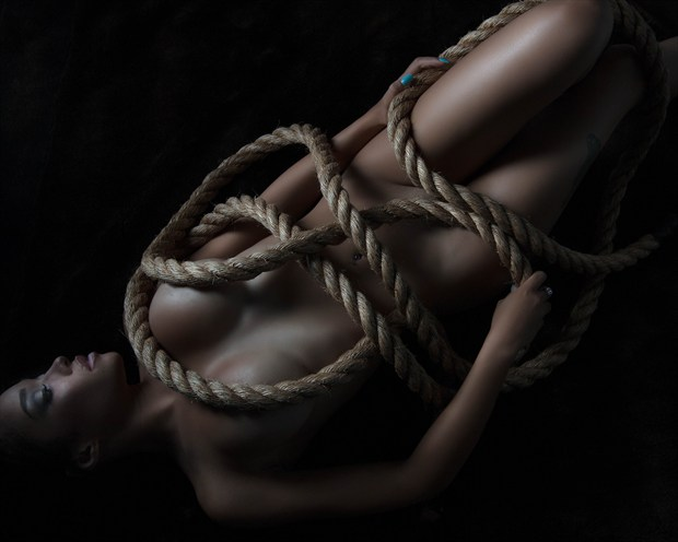 fit to be tied Artistic Nude Photo print by Photographer Dave Kelley Artistics