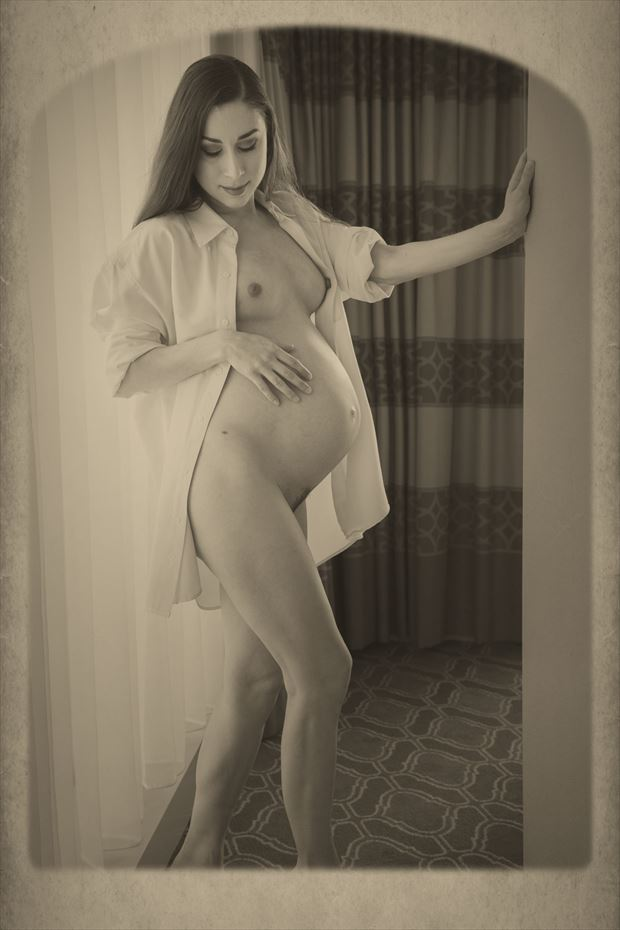 floofie artistic nude photo print by photographer dpaphoto