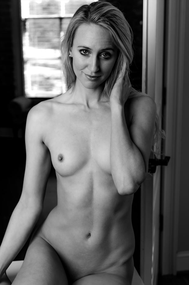 full body nude in black white 2 artistic nude photo print by photographer lamont s art works