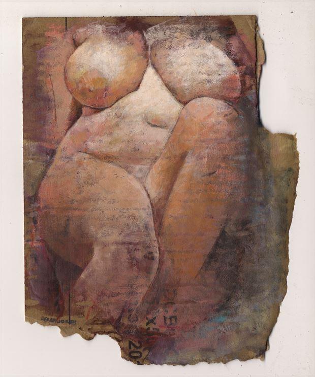 gabi artistic nude artwork print by artist jond