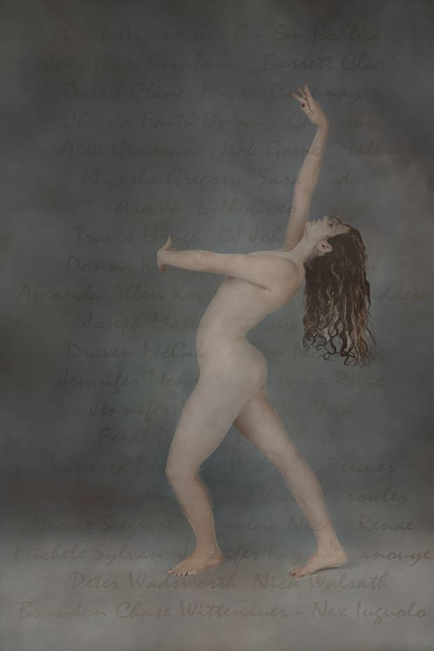 ghost dancer a tribute artistic nude photo print by photographer al wright