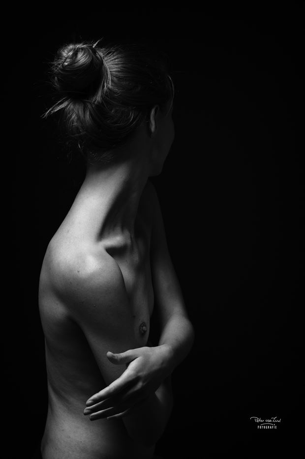 give me your hand erotic photo print by photographer peter van zwol