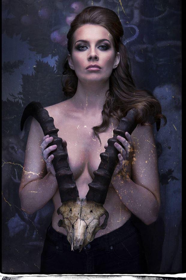 glamour gothic photo print by photographer stu williamson