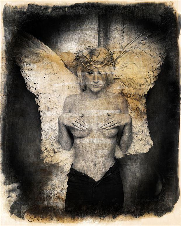gothic artwork print by photographer stu williamson