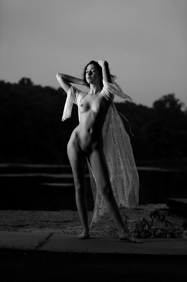 h artistic nude photo print by photographer depa kote