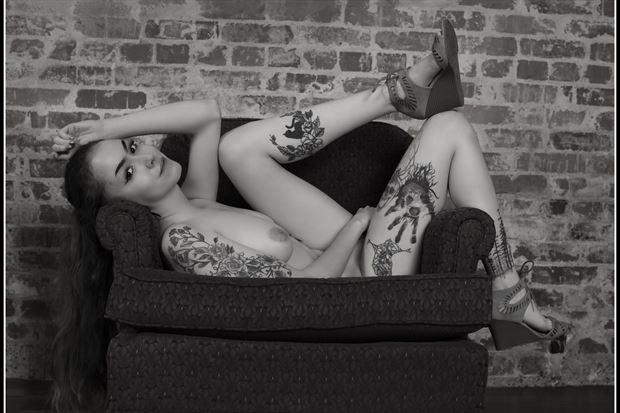 happy twenty artistic nude photo print by photographer tommy 2 s