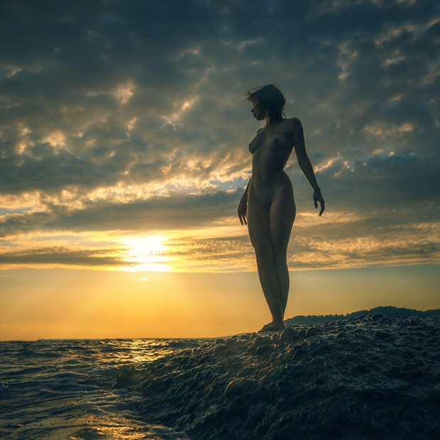 heat of summer Artistic Nude Photo print by Photographer dml