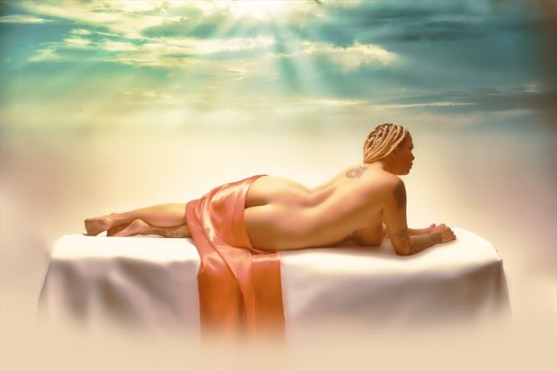 heaven artistic nude photo print by photographer henney