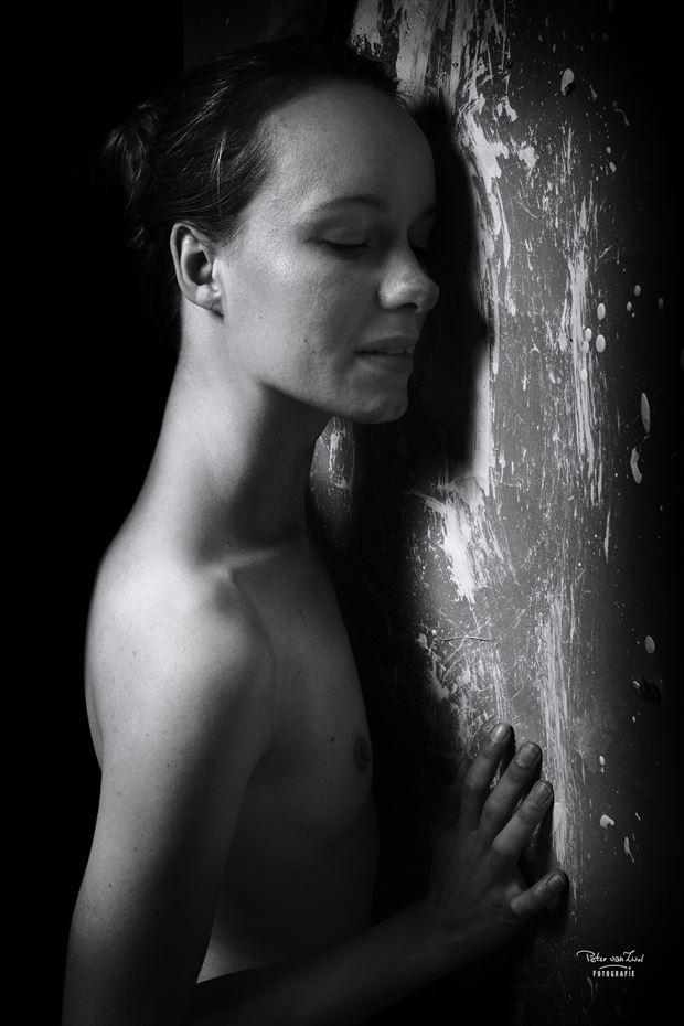 i hear you erotic photo print by photographer peter van zwol