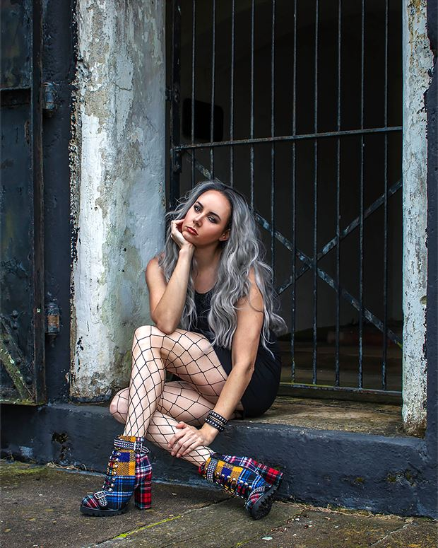 if found return to photographer fashion photo print by model alexandra queen