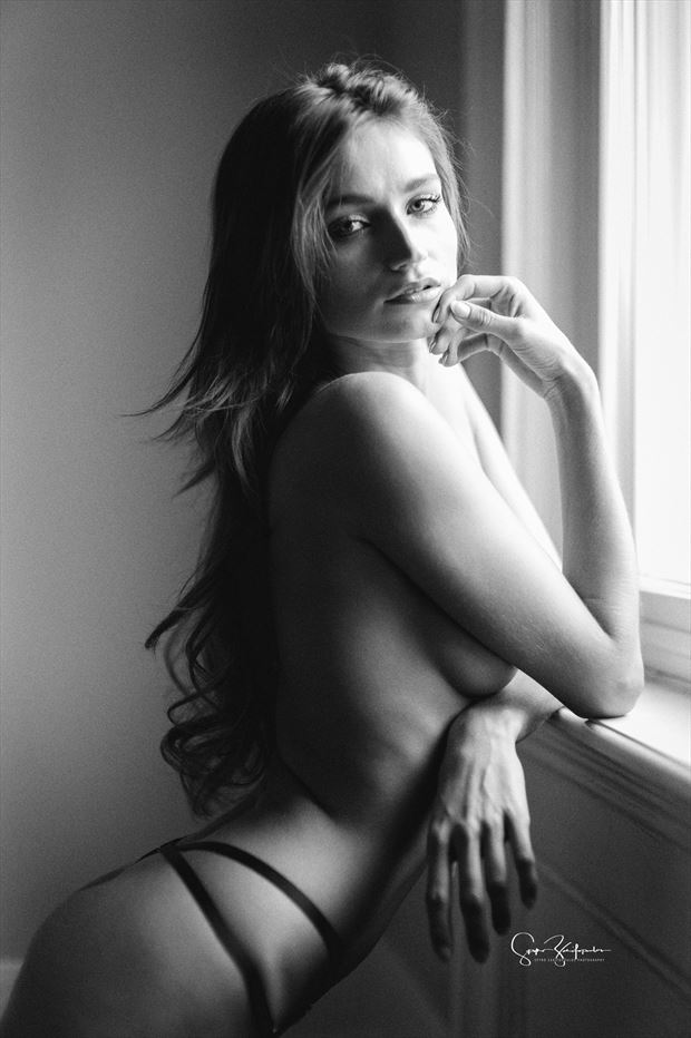 ilvy artistic nude photo print by photographer acros photography