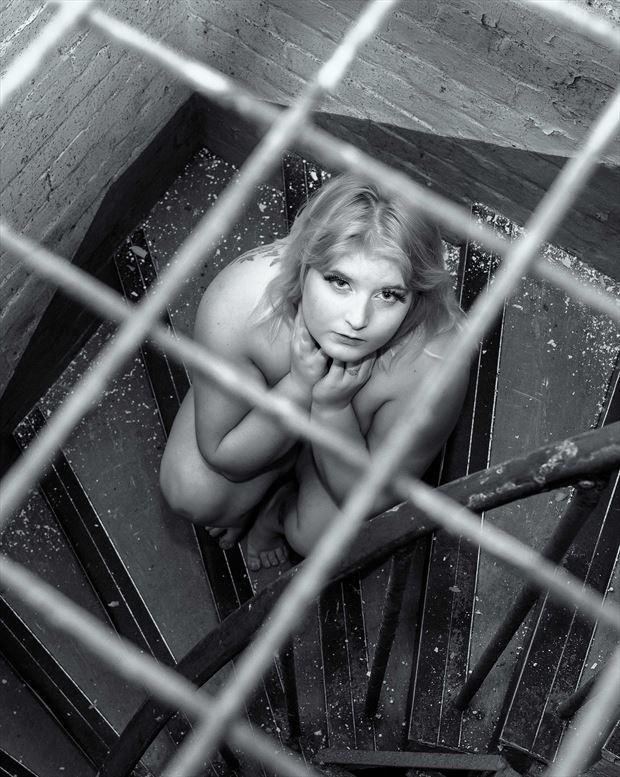 implied nude figure study photo print by photographer chriswoodman_photo