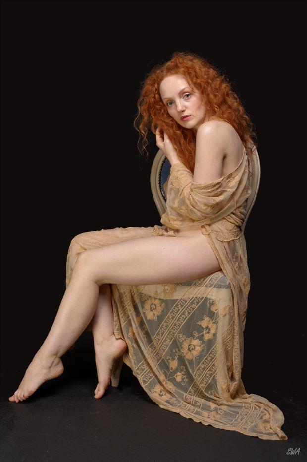 ivory flame sensual photo print by photographer swaphoto