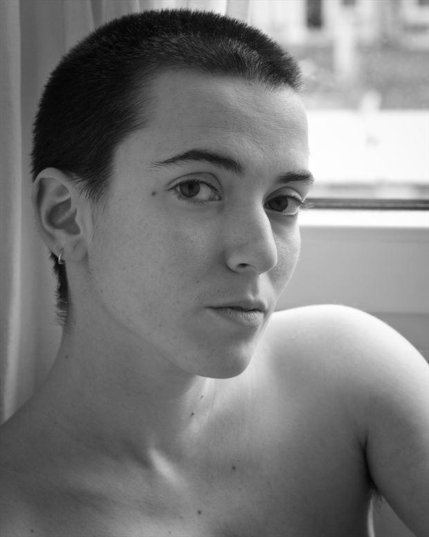 julia may 2021 1 artistic nude photo print by photographer jan karel kok