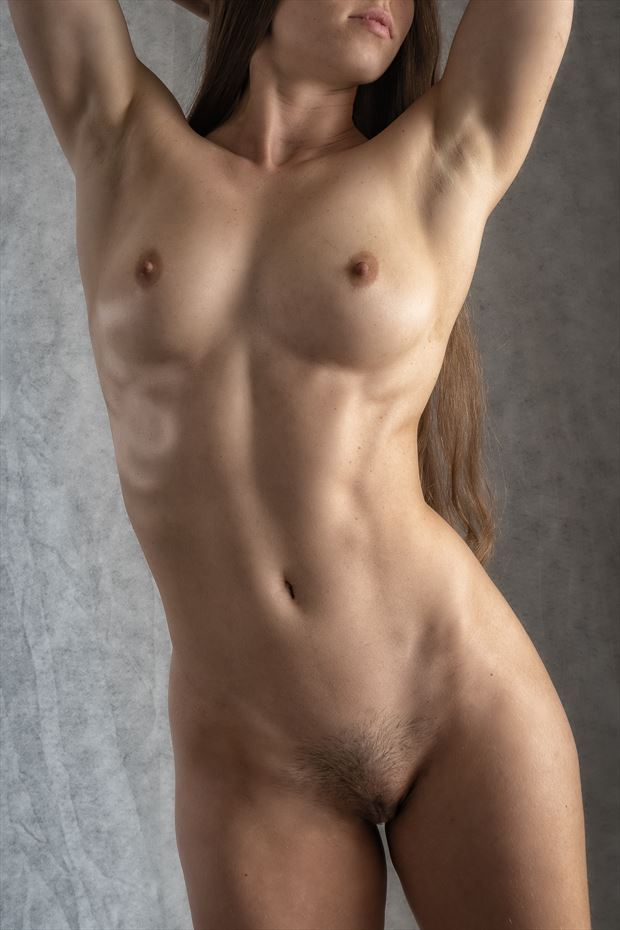 just another torso 3 artistic nude photo print by photographer rick jolson