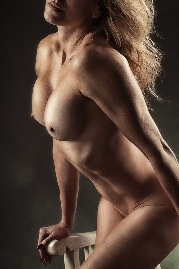 just another torso 4 artistic nude photo print by photographer rick jolson