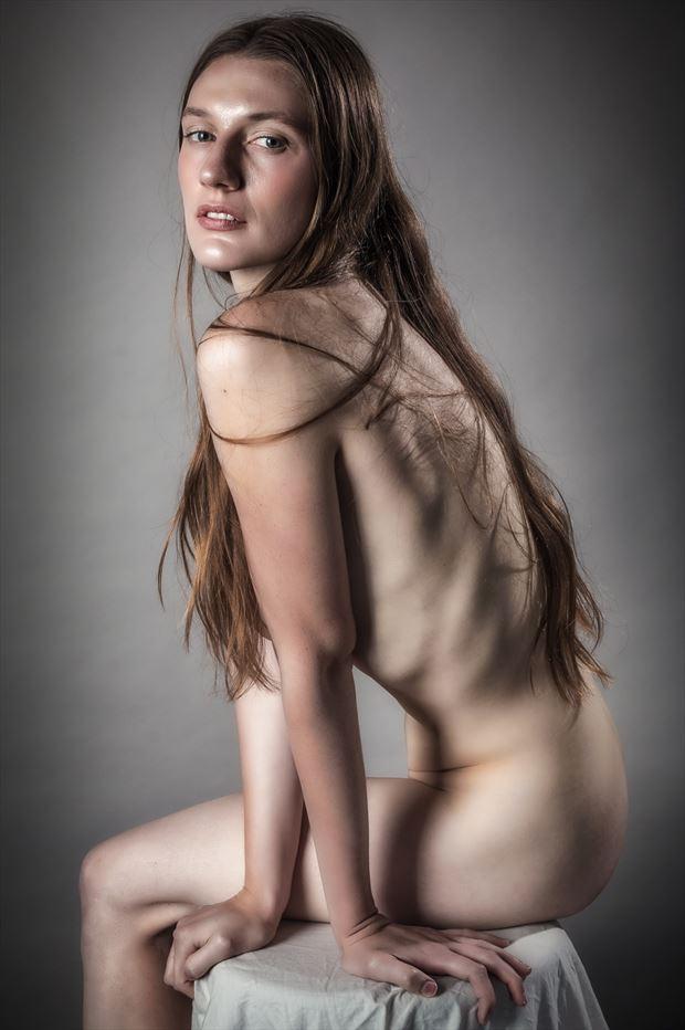just chill in studio lighting photo print by photographer rick jolson