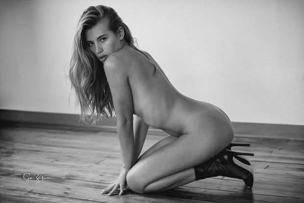katia artistic nude photo print by photographer acros photography