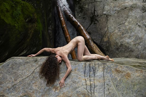 keira grant artistic nude photo print by photographer foxfire 555