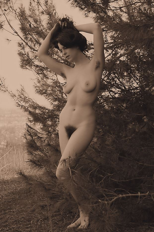 kelsey artistic nude photo print by photographer pblieden
