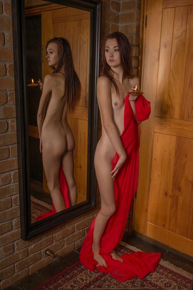 khloe artistic nude photo print by photographer tfa photography