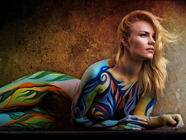 kilina 10x14 erotic photo print by photographer bill milward