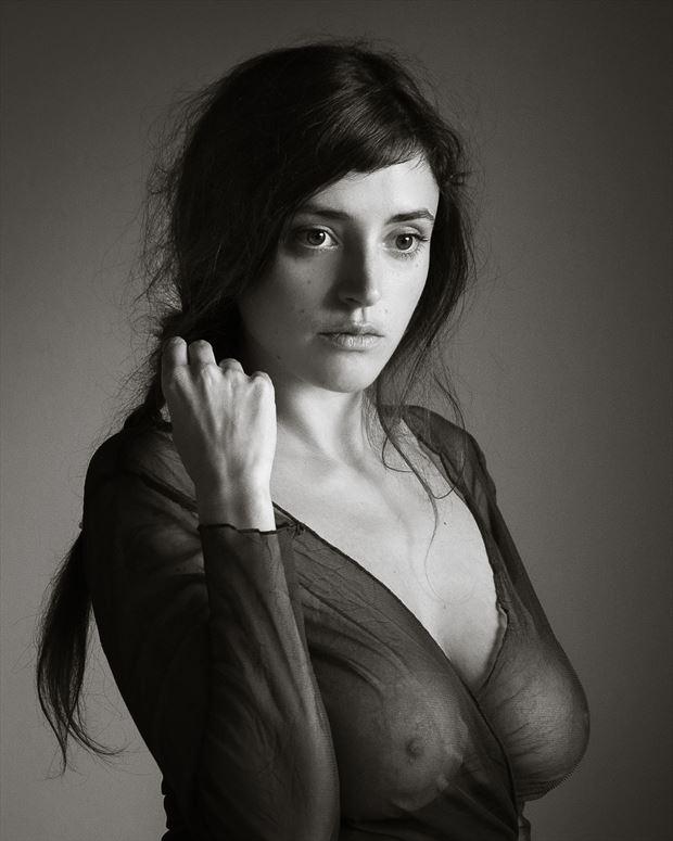 la tresse sensuelle sensual photo print by photographer garden of the muses