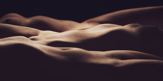 landscape vii artistic nude artwork print by photographer intimate images