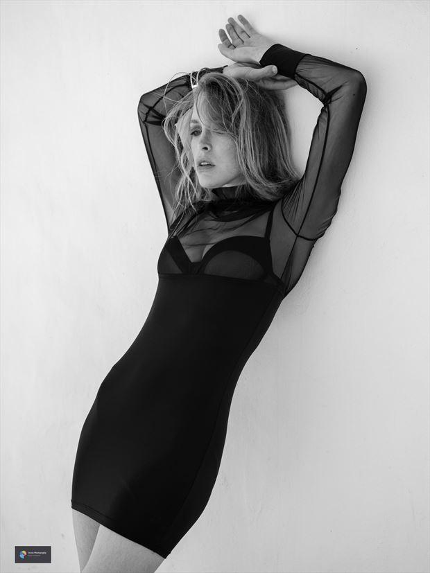 leonie lingerie photo print by photographer acros photography