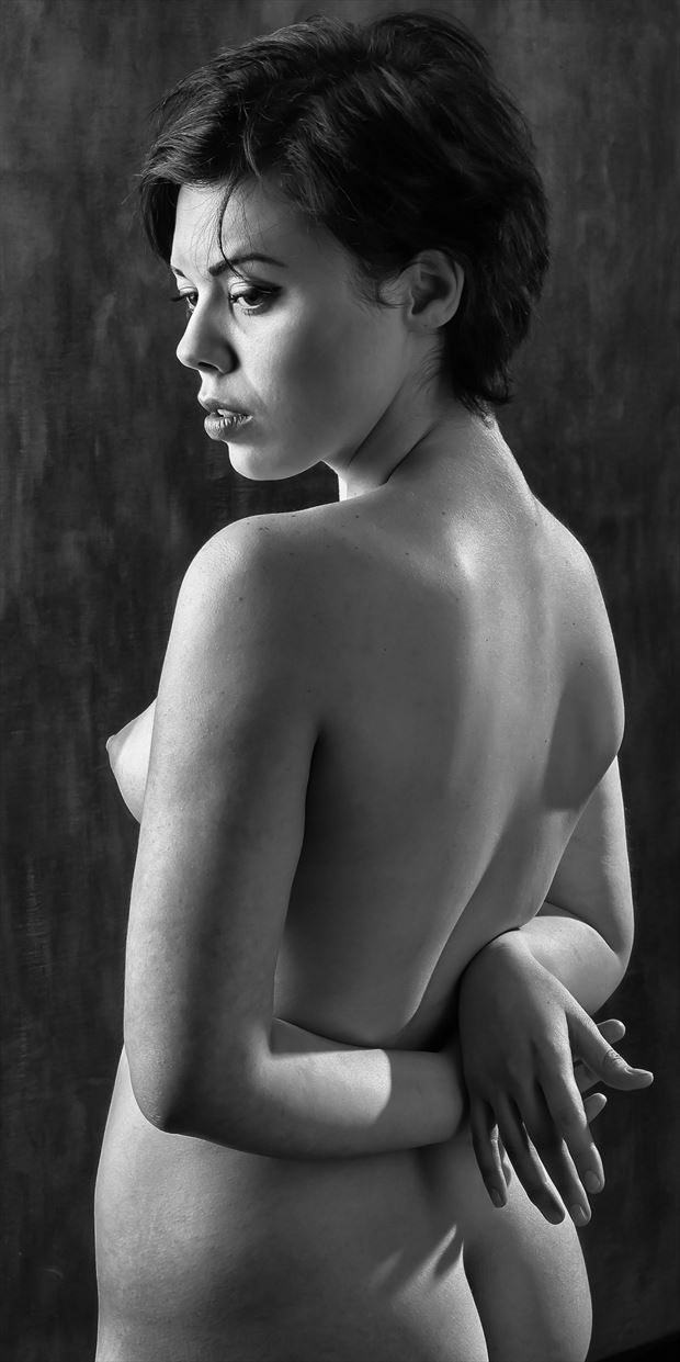 lilli is back artistic nude photo print by photographer rick jolson
