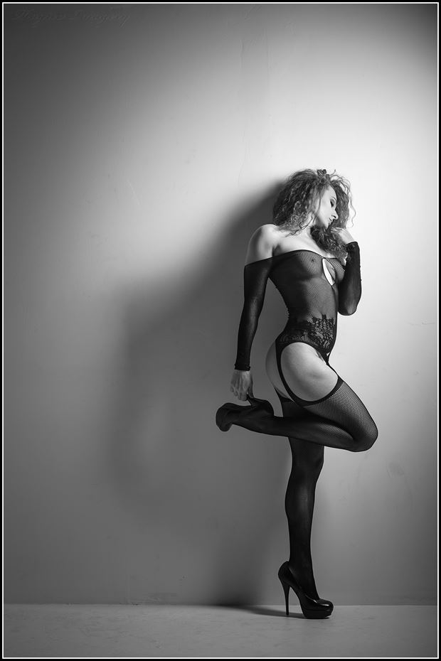 lingerie glamour photo print by photographer magicc imagery
