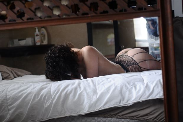 lingerie implied nude photo print by photographer goadken