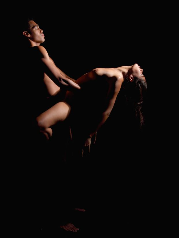 lover s dance artistic nude photo print by photographer pblieden