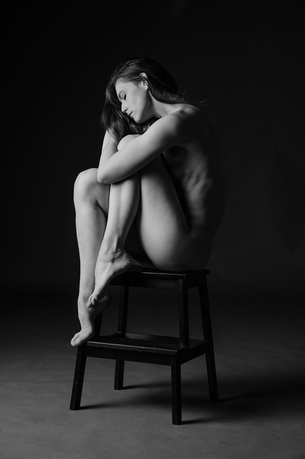 lucy artistic nude photo print by photographer andyd10