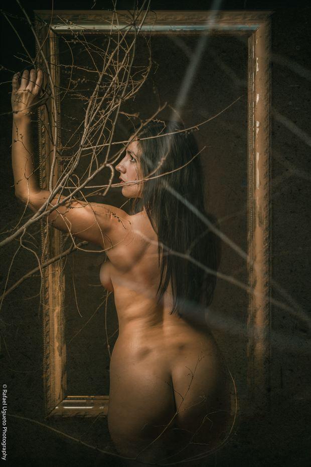 luz 3 artistic nude photo print by photographer rafael ugueto photography