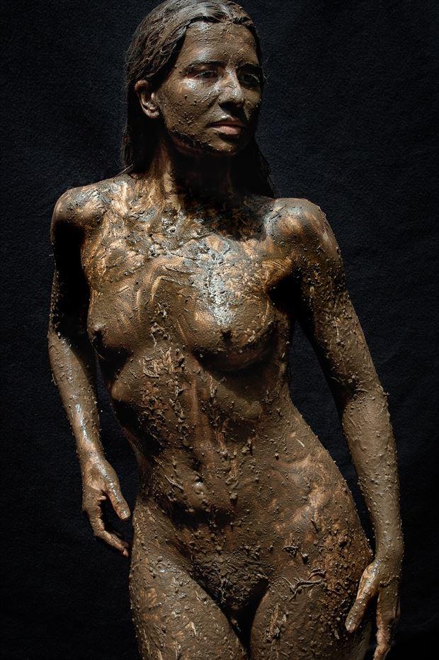 makin a mess 62209 artistic nude photo print by photographer rick jolson