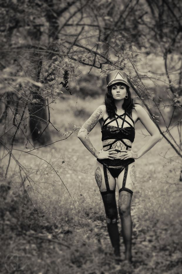 marching orders lingerie photo print by photographer klphotos215