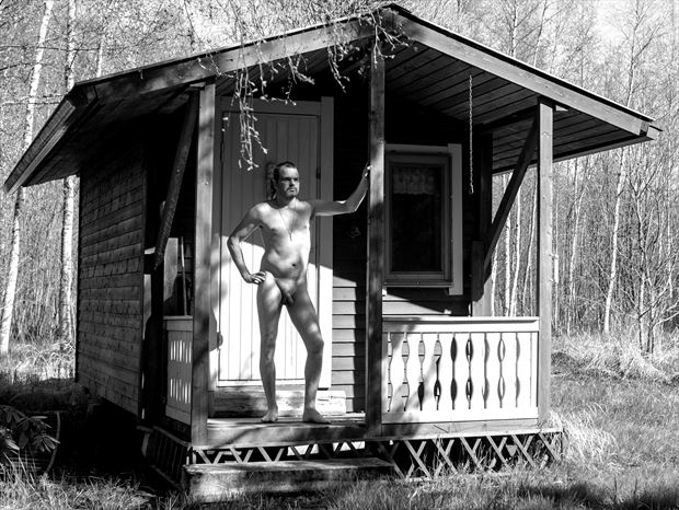 me myself and i artistic nude photo print by photographer janne