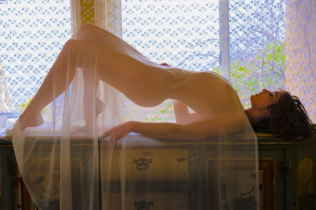 meghan claire artistic nude photo print by photographer philip turner