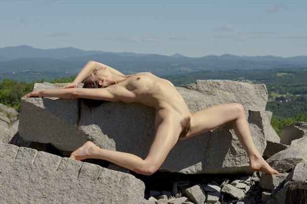 mel artistic nude photo print by photographer foxfire 555
